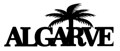 Algarve Scrapbooking Laser Cut Title with Palm Tree