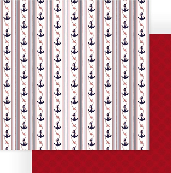 Anchor Double Sided 12x12 Scrapbooking Paper