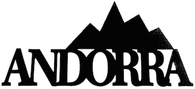 Andorra Scrapbooking Laser Cut Title with Mountains