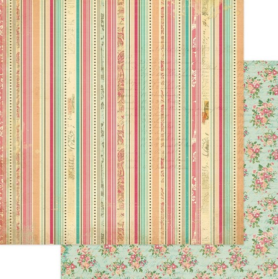 Antique 12x12 Double Sided Scrapbooking Paper