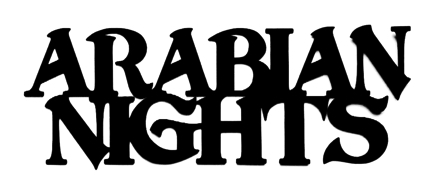 Arabian Nights Scrapbooking Laser Cut Title