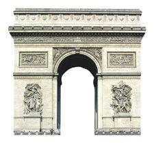 Arc de Triomphe Scrapbooking Die Cut