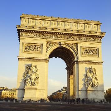 Arch de Triomphe 12x12 Scrapbooking Paper