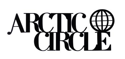Arctic Circle Scrapbooking Laser Cut Title with Globe