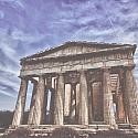Athens Greece 12x12 Scrapbooking Paper