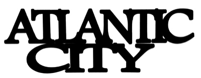 Atlantic City Scrapbooking Laser Cut Title