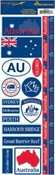 Australia Cardstock Scrapbooking Stickers and Borders