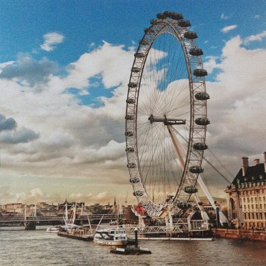 London Eye 12x12 Scrapbooking Paper