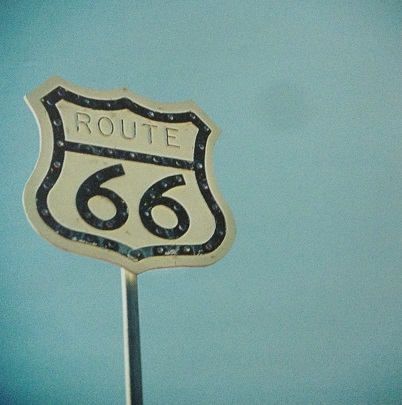 Route 66 12x12 Scrapbooking Paper