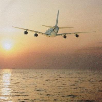 Jetting Away 12x12 Scrapbooking Paper