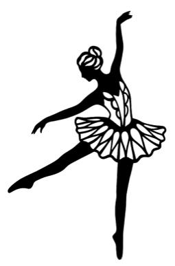 Ballerina Intricate Scrapbooking Laser Cut