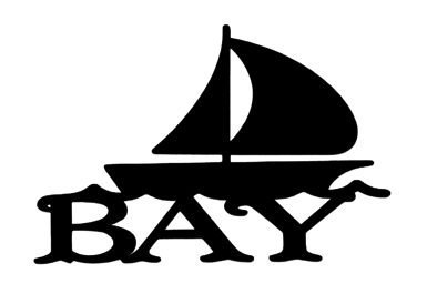 Bay Scrapbooking Laser Cut Title with Boat