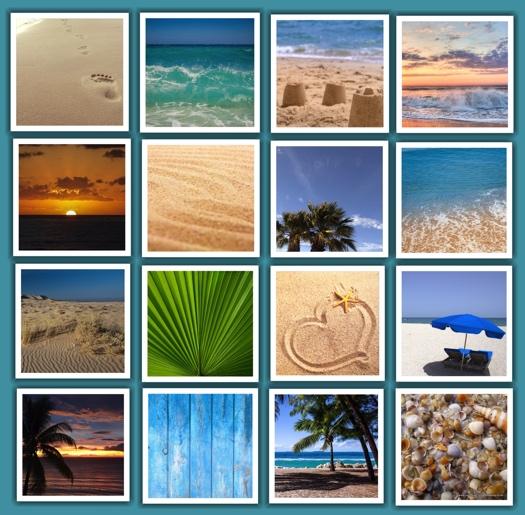 Beach Scrapbooking Pack