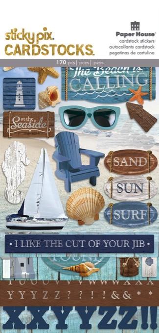 Beach Scrapbooking Sticker Multi Pack