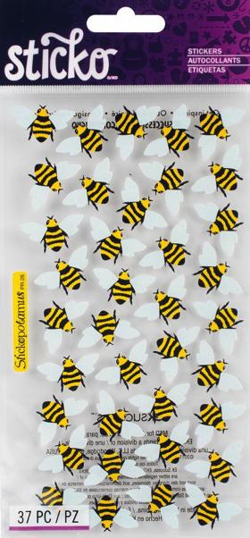 Bees Scrapbooking Stickers