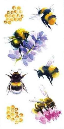 Bees Scrapbooking Mini Stickers