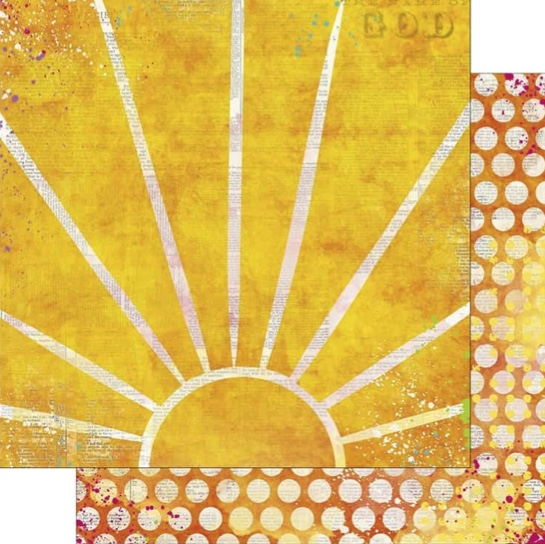 Believe Radiance 12x12 Double Sided Scrapbooking Paper