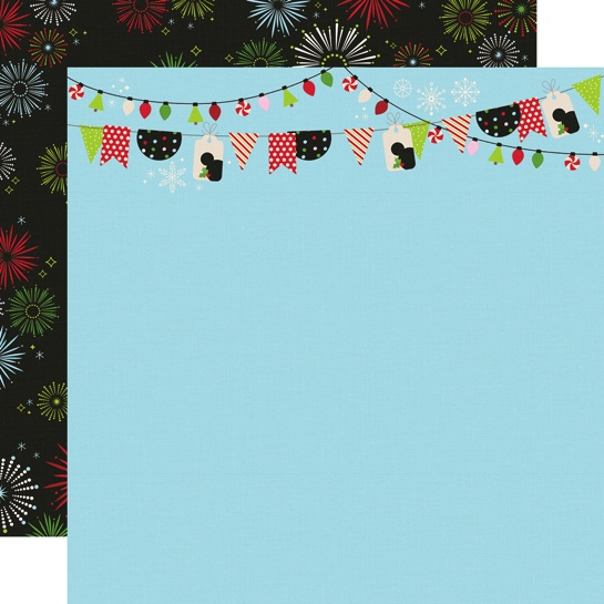 Believe in Magic Double Sided 12x12 Scrapbooking Paper