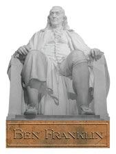 Ben Franklin Scrapbooking Die Cut