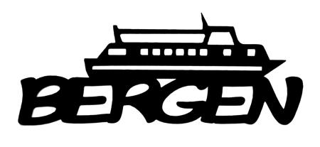 Bergen Scrapbooking Laser Cut Title with Boat