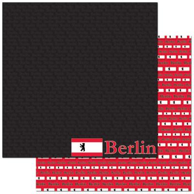 Berlin 12x12 Double Sided Scrapbooking Paper