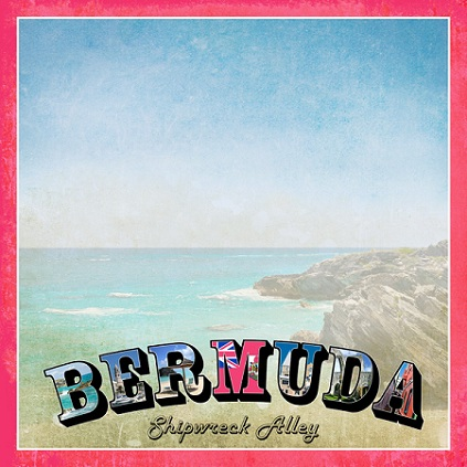 Bermuda Vintage 12x12 Scrapbooking Paper
