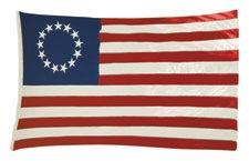Old American Flag Scrapbooking Die Cut