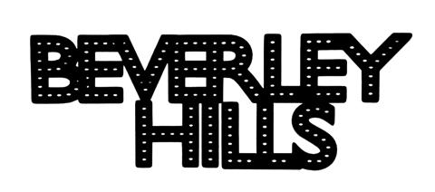 Beverley Hills Scrapbooking Laser Cut Title