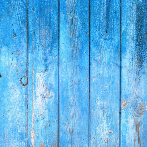 Blue Weathered Wood 12x12 Scrapbooking Paper