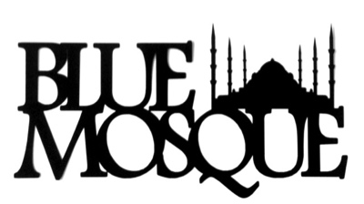 Blue Mosque Scrapbooking Laser Cut Title