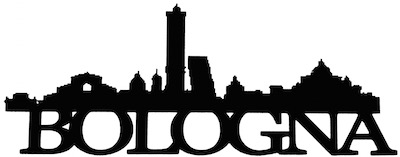 Bologna Scrapbooking Laser Cut Title With Skyline