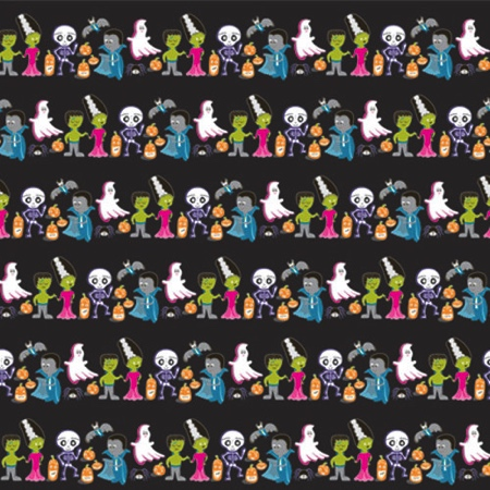 Boo Halloween Double Sided 12x12 Scrapbooking Paper