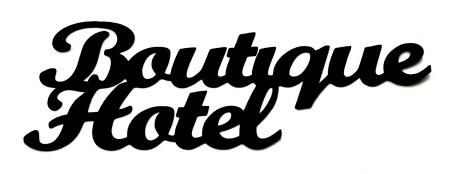 Boutique Hotel Scrapbooking Laser Cut Title