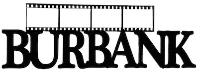 Burbank Scrapbooking Laser Cut Title with Film Strip
