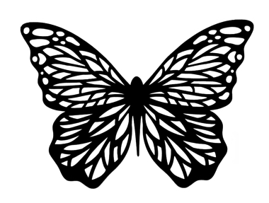 Butterfly Intricate Scrapbooking Laser Cut 1