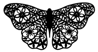 Butterfly Intricate Scrapbooking Laser Cut 2