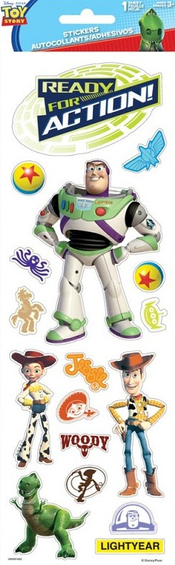 Toy Story Large Disney Scrapbooking Stickers