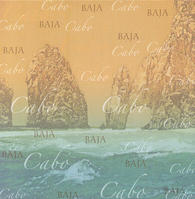 Cabo Baja 12x12 Scrapbooking Paper