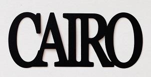 Cairo Scrapbooking Laser Cut Title