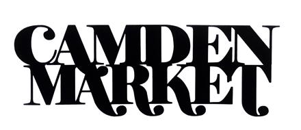 Camden Market Scrapbooking Laser Cut Title
