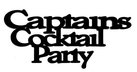 Captains Cocktail Party Scrapbooking Laser Cut Title