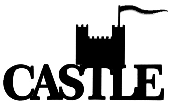 Castle Scrapbooking Laser Cut Title with castle