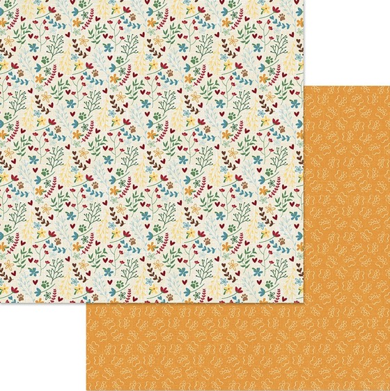 Catnip Double Sided 12x12 Scrapbooking Paper