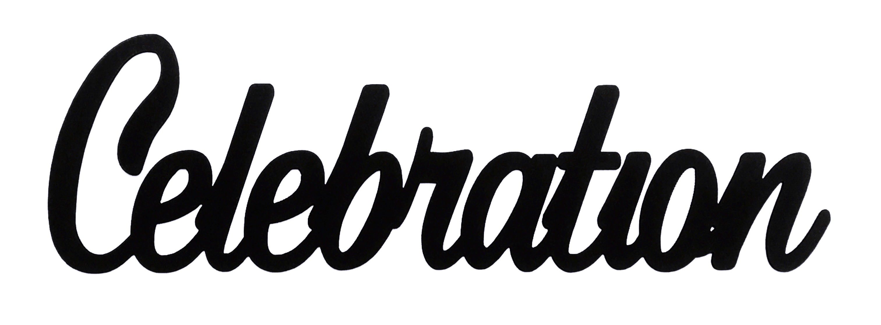 Celebration Scrapbooking Laser Cut Title
