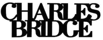 Charles Bridge Scrapbooking Laser Cut Title