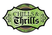 Chills and Thrills Scrapbooking Die Cut Sticker
