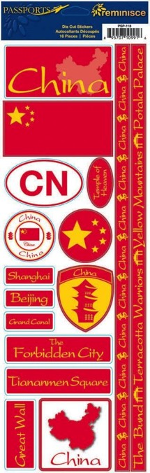China Cardstock Scrapbooking Stickers and Borders