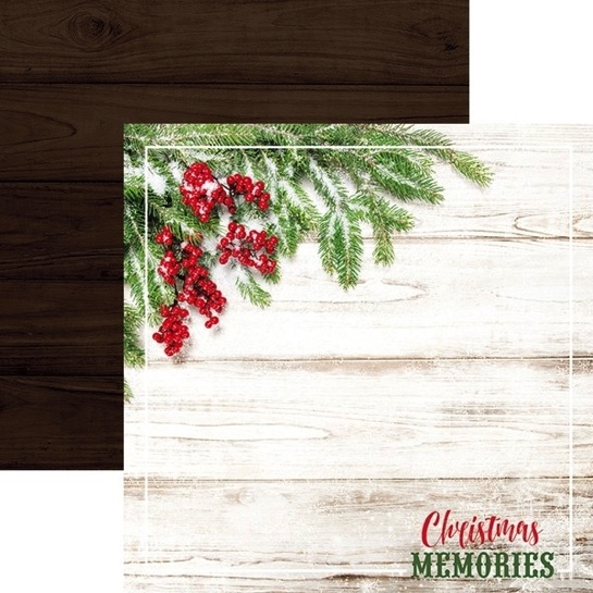 Christmas Memories 12x12 Double Sided Scrapbooking Paper