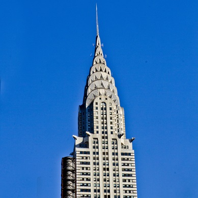 Chrysler Building 12x12 Scrapbooking Paper