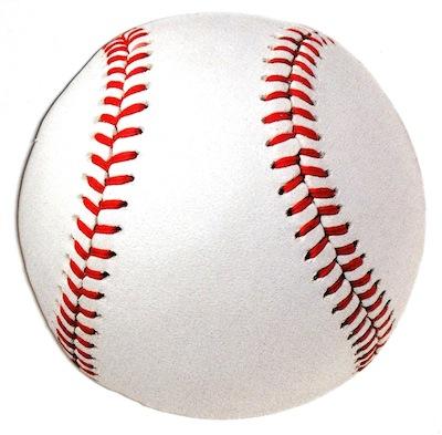 Baseball Ball Scrapbooking Die Cut